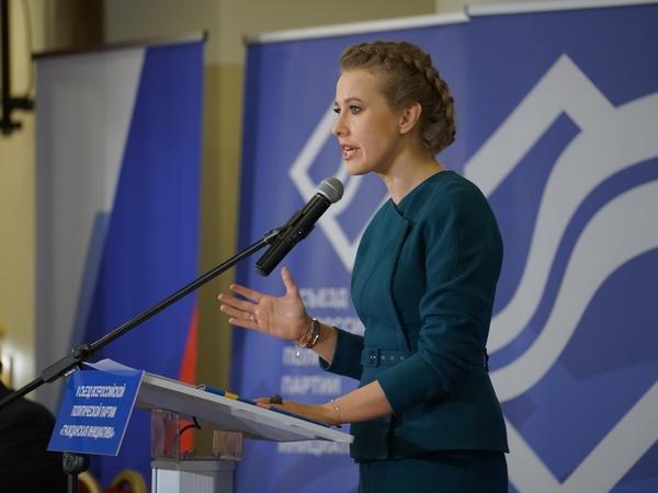 Программа Собчак: РФдолжна закончить войну против Украинского государства