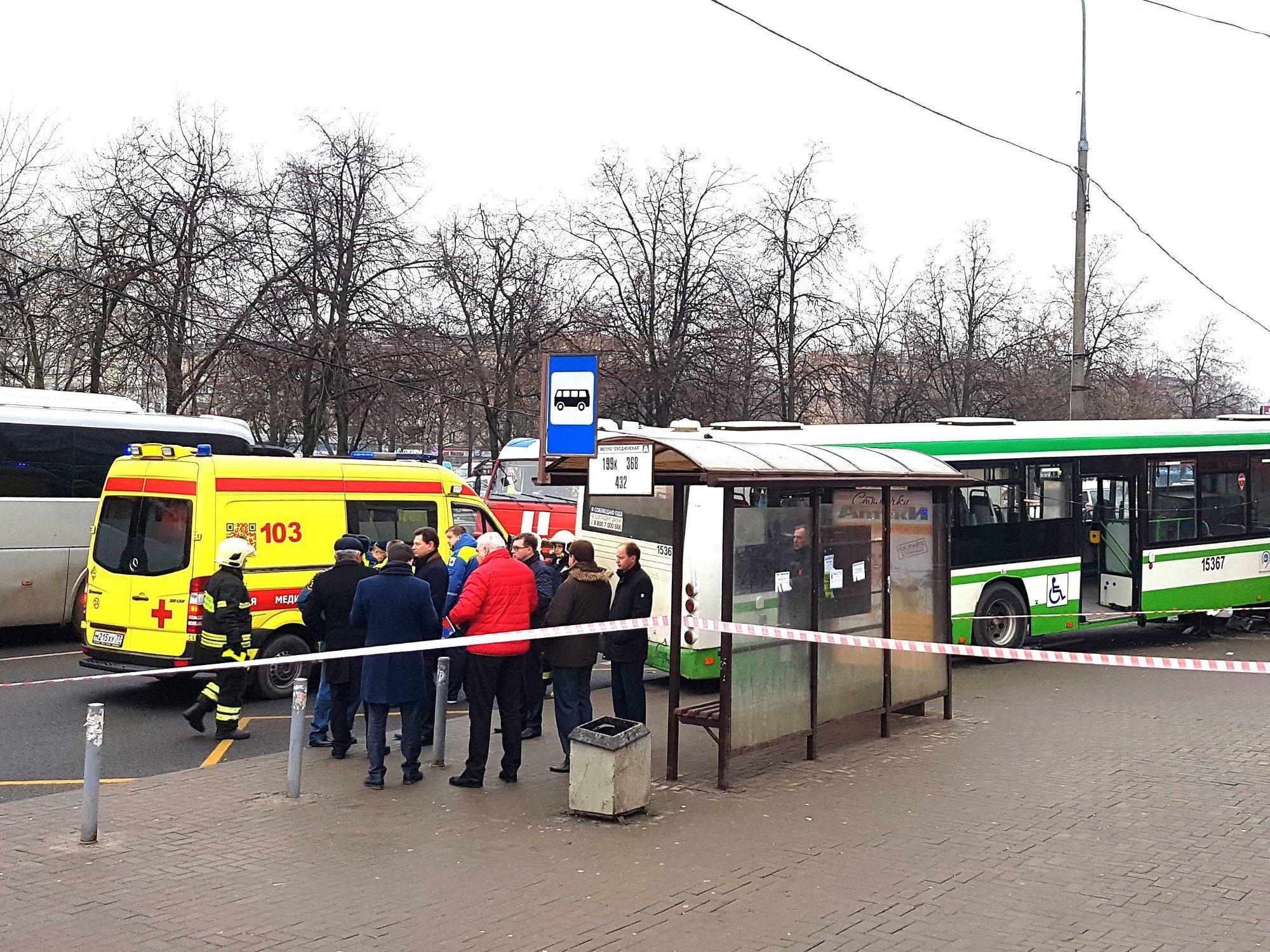 МЧСРФ: ВДТП савтобусом в столице погибших нет