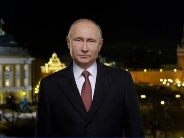 Поздравление Президента Российской Федерации Владимира 72