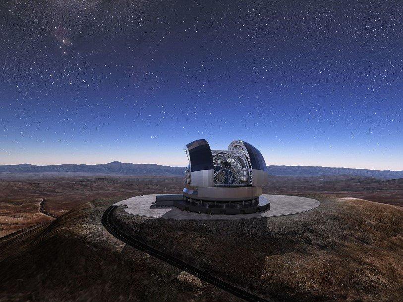 ВГермании изготовили первые сегменты огромного зеркала для телескопа