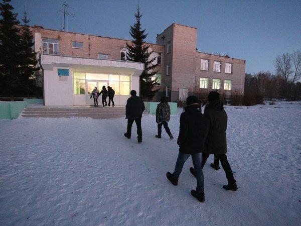 Школа деревни Смольное