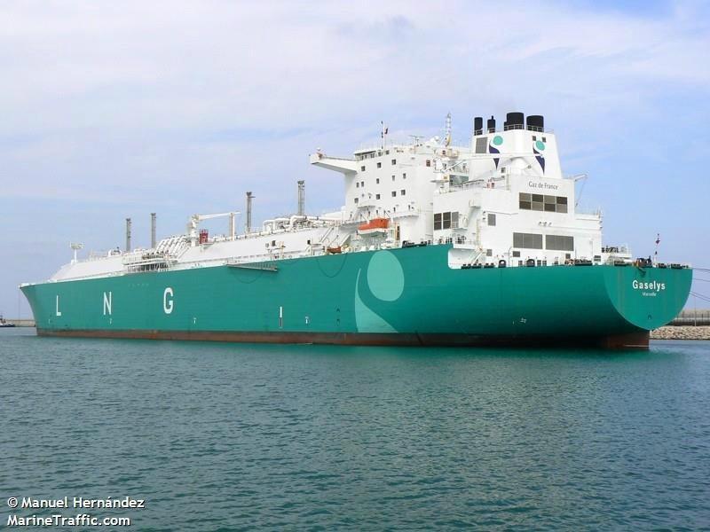Танкер Gaselys с русским  сжиженным газом прибыл ктерминалу порта Бостона