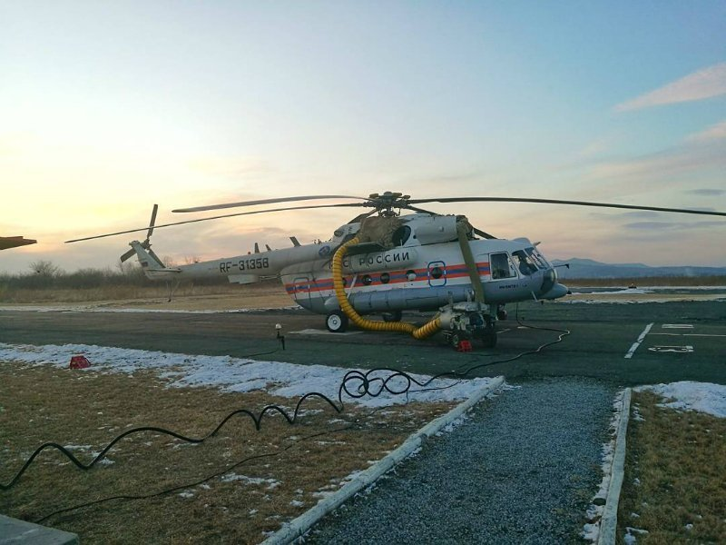 МЧС продолжит поиски «Востока» при помощи самолетов Бе-200