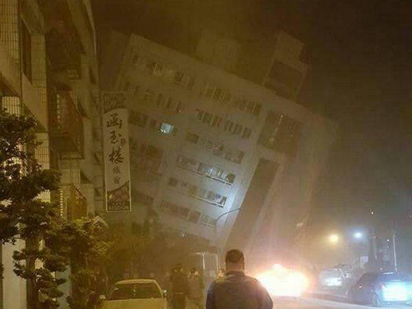 Землетрясение на Тайване в феврале 2018 года