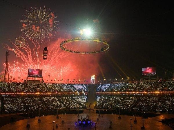 Церемония Открытия Олимпиады в Пхенчхане 2018