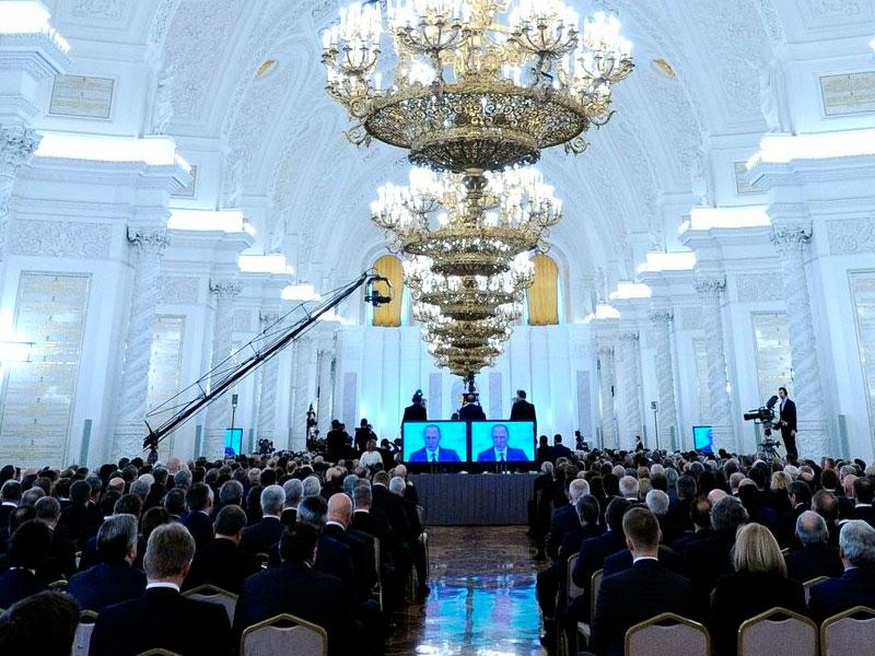 Письмо В. Путина Федеральному Собранию побило рекорд по продолжительности