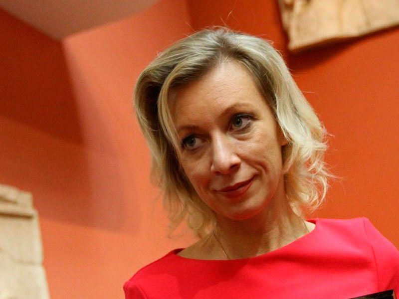 Мария Захарова представитель МИД РФ