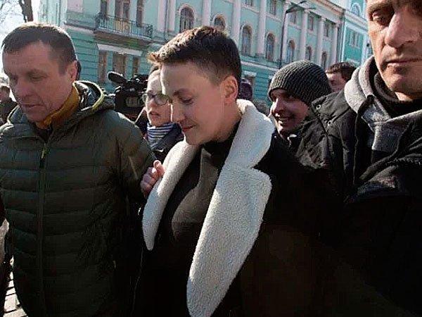 Арест Н.Савченко