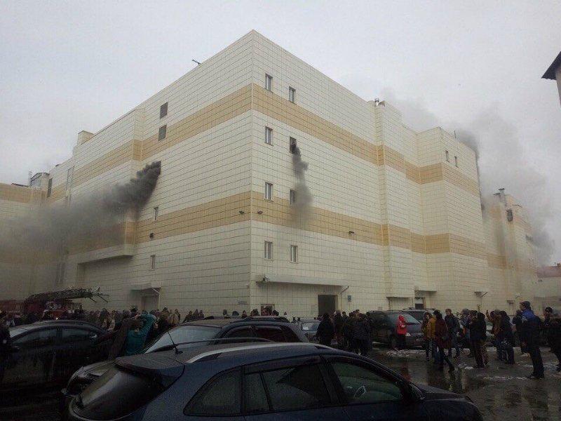 Названа очередная причина пожара вкемеровском коммерческом центре «Зимняя вишняя»
