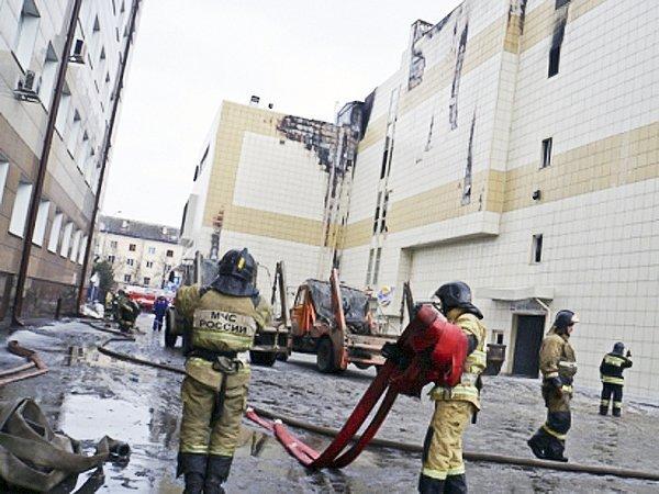 Правоохранители проводят выемку документов вкузбасскомГУ МЧС РФ
