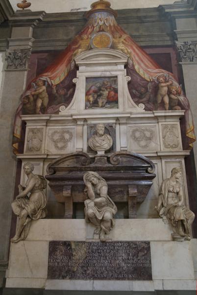 Реставрация гробницы Микеланджело