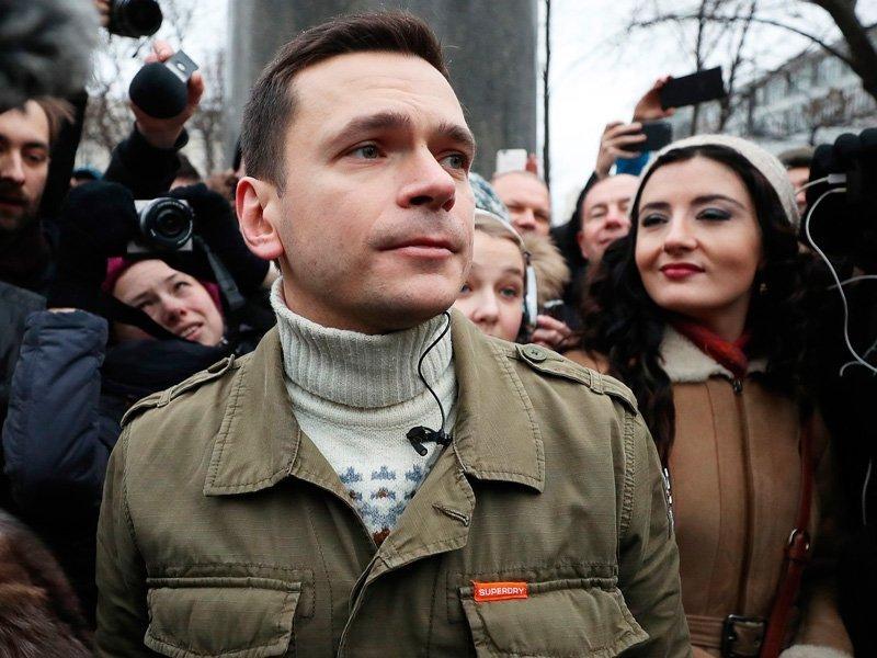 Илья Яшин объявил овыдвижении вмэры столицы