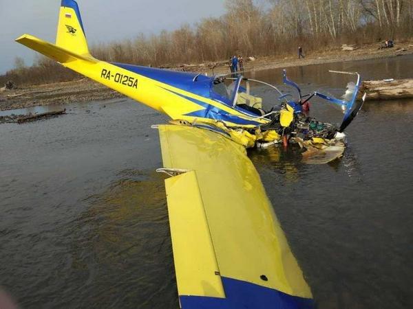 Крушение легкомоторного самолета в Хакасии