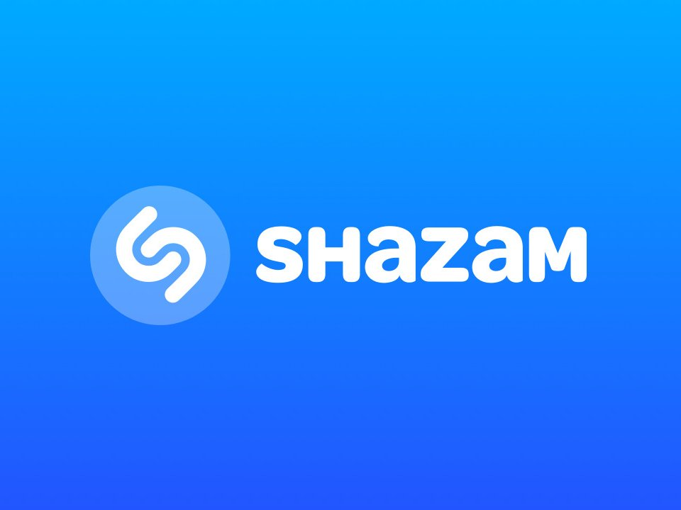 Логотип приложения Shazam
