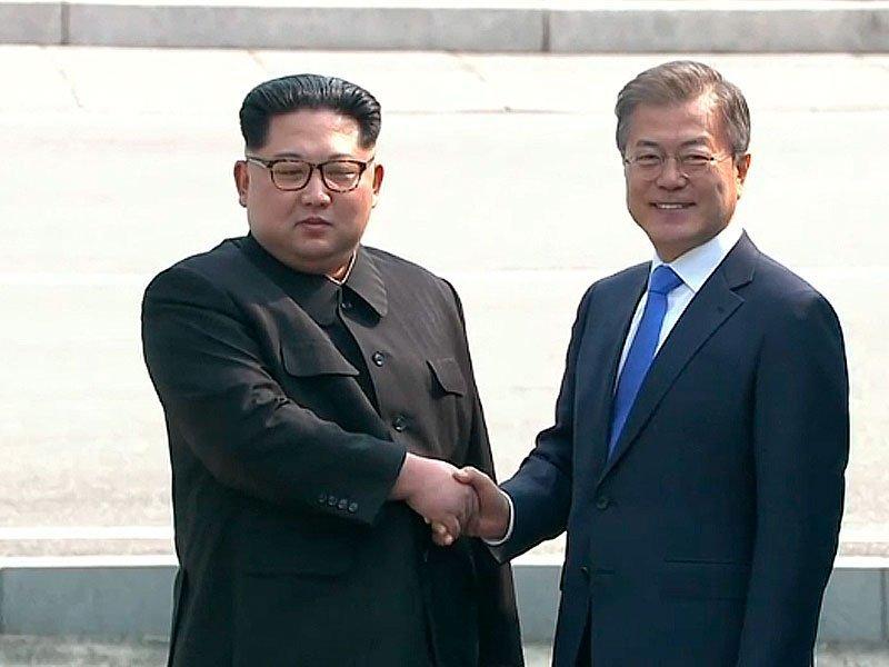 Лидеры 2-х Корей договорились вывести военных издемилитаризованной зоны