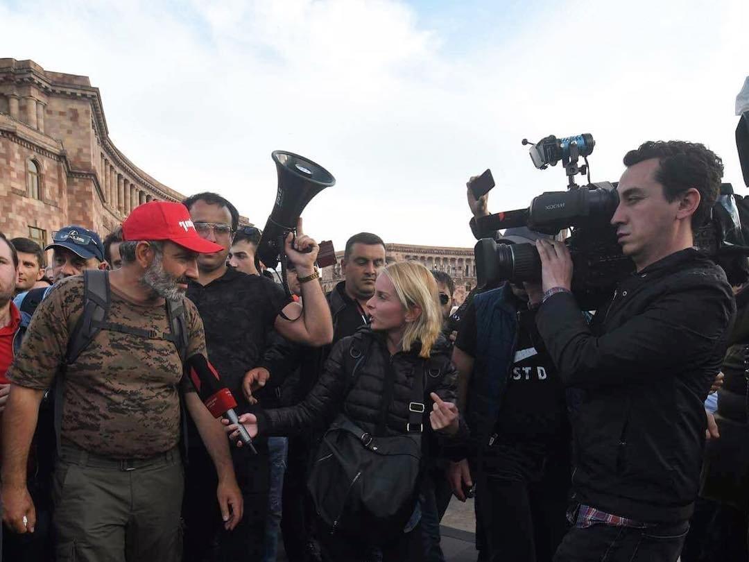 Пашинян объявил облокировке метро, железной дороги иаэропорта Еревана