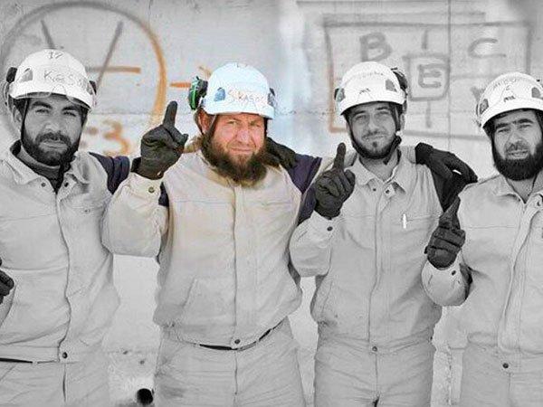 """""""Белые каски"""". Сирия"""