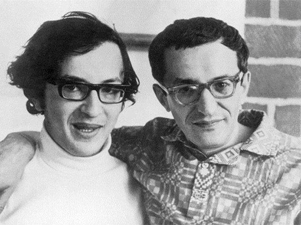 Герман Плисецкий с сыном Дмитрием