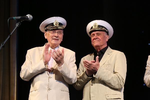 Валерий Рузин и Владимир Меньшов