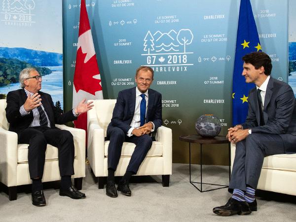 G7: напряженный саммит в Канаде