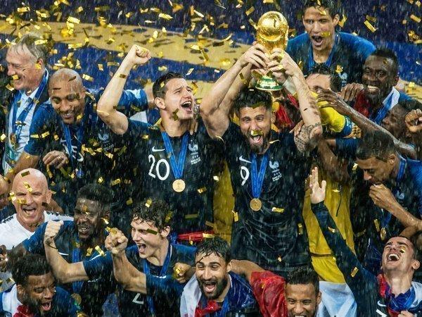 Сборная Франции стала чемпионом мира пофутболу 2018 года