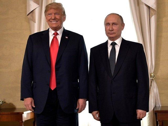 Владимир Путин и Дональд Трамп в Хельсинки
