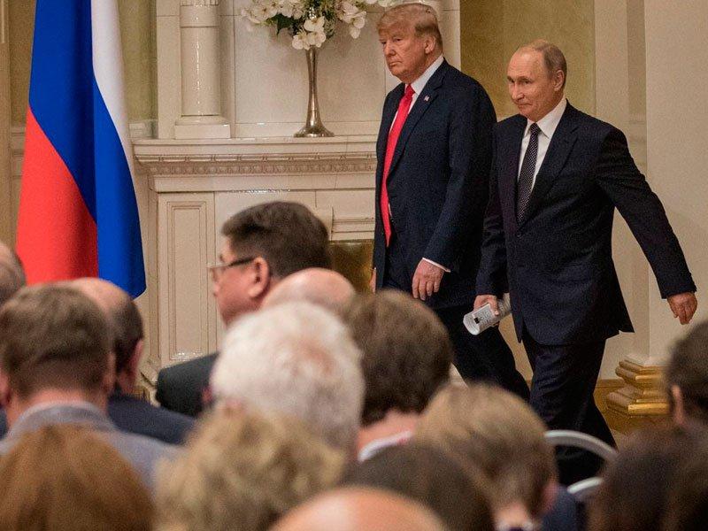 США неисключили встречи В.Путина  иТрампа осенью