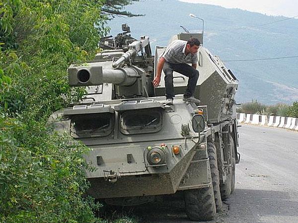 Годовщина войны с Грузией: взгляд с Запада