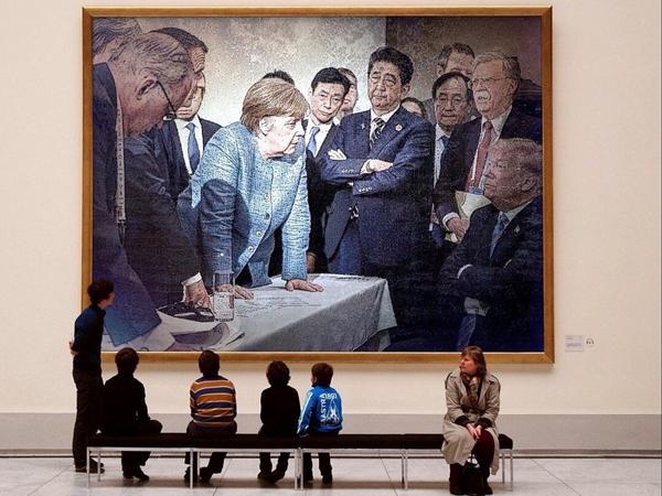 Берлин в ожидании безрезультатной встречи