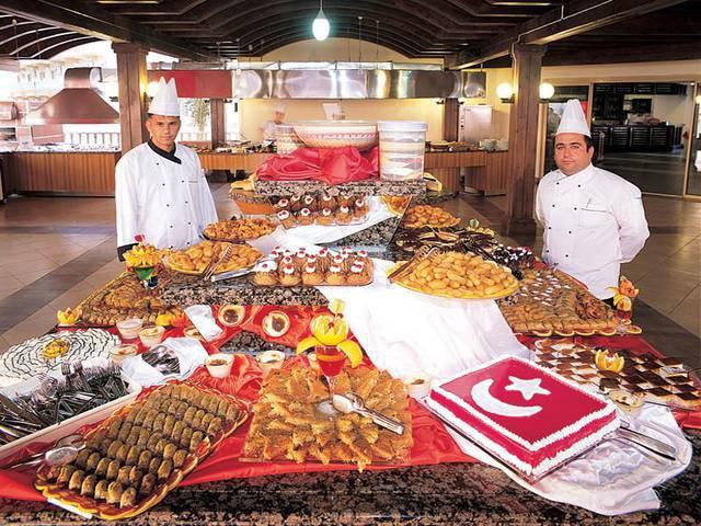 All inclusive в турецком отеле