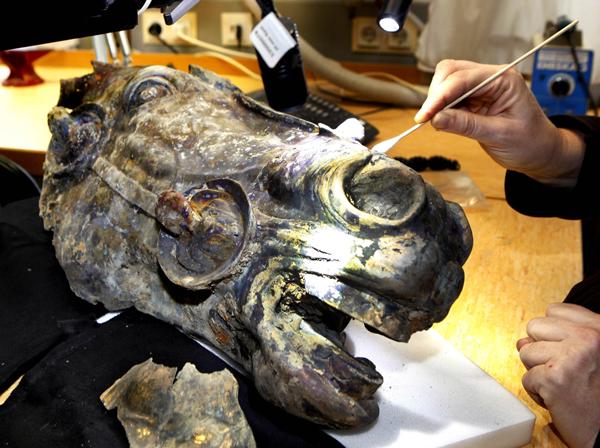 Конская голова из Вальдгрима