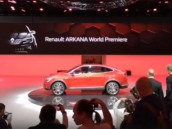 Премьера Renault ARKANA на ММАС 2018