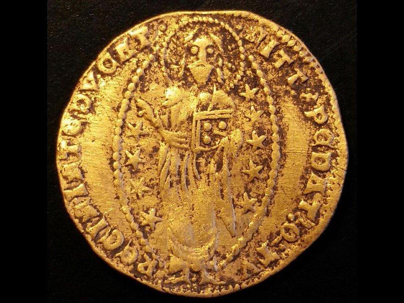ВШвеции впервый раз отыскали венецианскую золотую монету