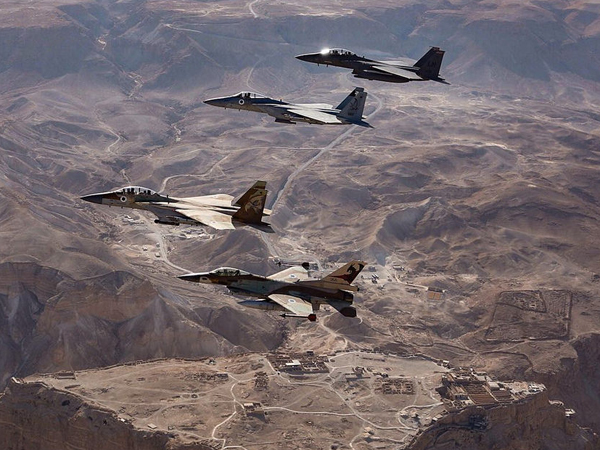 F-16 ВВС Израиля. Фото: Israel Defense Forces/flickr.com