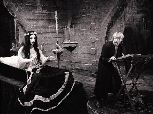 Кадр из фильма «Вий» (1967)