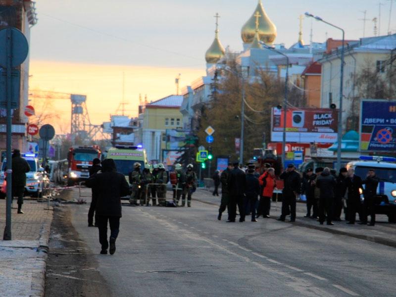 Анархия взрыва в Архангельске