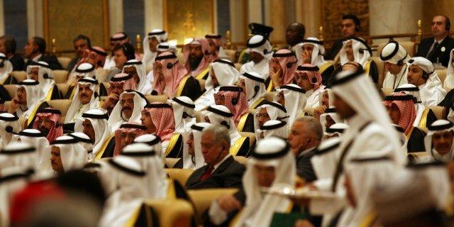 Представители Саудовской Аравии на саммите ОПЕК