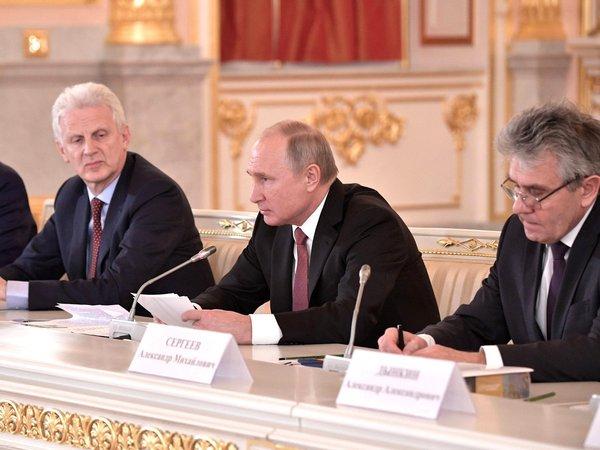 Владимир Путин на заседании Совета по науке и образованию