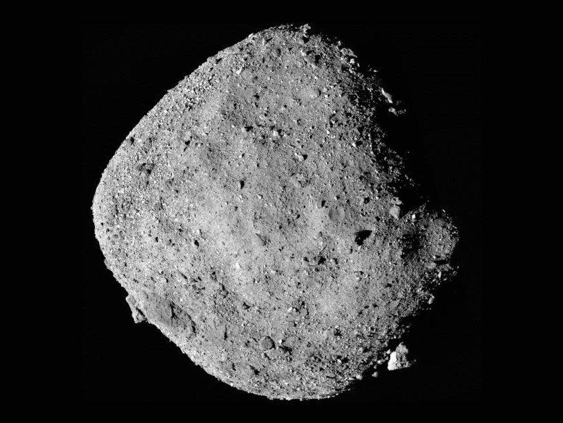 Вращение астероида Бенну ускоряется