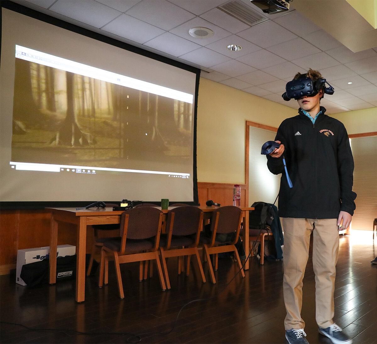 Устройство виртуальной реальности позволяет взглянуть на мир глазами долгопята