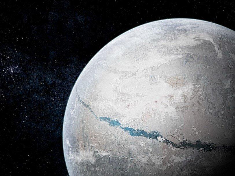 «Земля-снежок» растаяла удивительно быстро