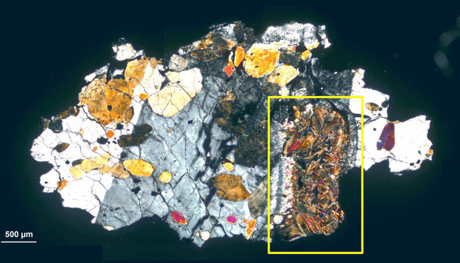 Ученые заподозрили следы жизни в марсианском метеорите