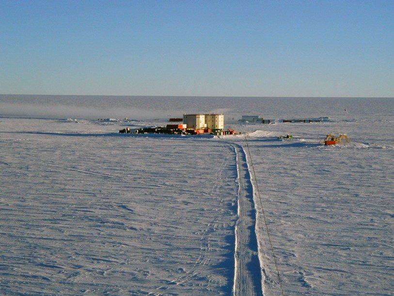 Выбрано место для добычи древнейшего льда на Земле