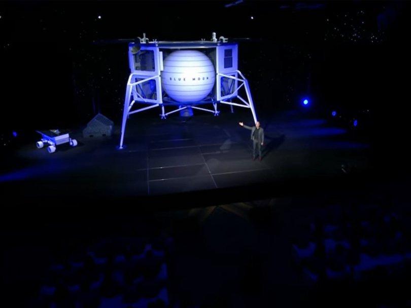 Лунная гонка: что показал Джефф Безос