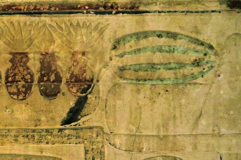 Уже у древних египтян имелись красные и сладкие арбузы