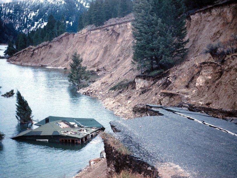 Повторные толчки землетрясения 1959 года произошли в Йеллоустоне спустя 58 лет