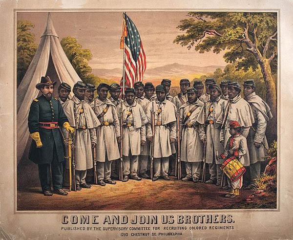 Знамя негритянского полка