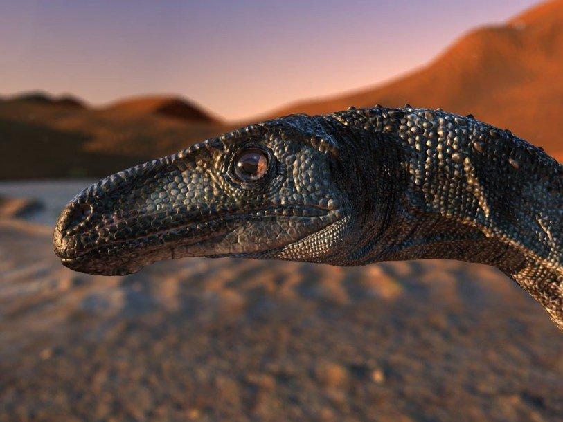 Найденный в Бразилии динозавр ходил на двух пальцах