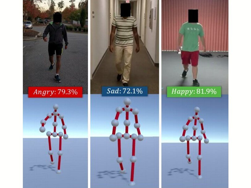 Искусственный интеллект научился определять эмоции человека по походке
