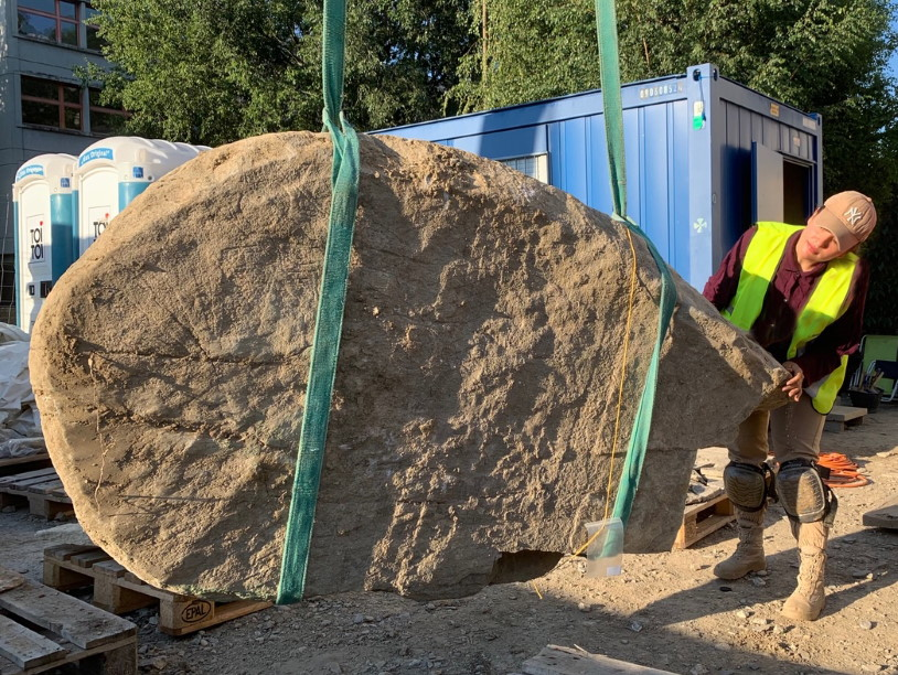 В центре швейцарского города нашли неолитические каменные плиты
